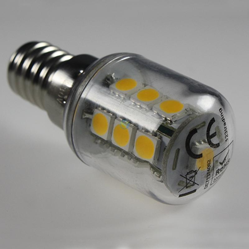 LED E14 kleine Birne Kühlschrankleuchte Nähmaschine Lampe 16 SMD
