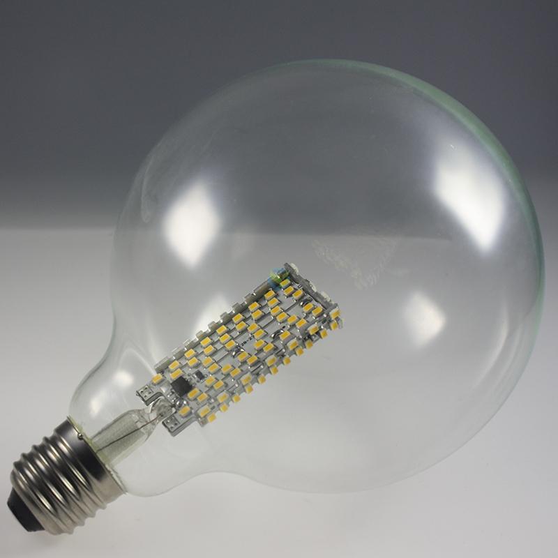 led e27 g125 kugel globe birne lampe warmwei 3 5 7 watt. Black Bedroom Furniture Sets. Home Design Ideas