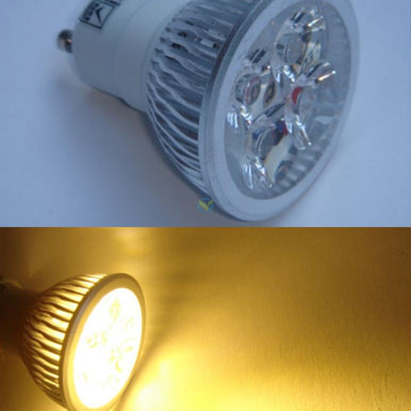 LED Spot 4 x 2 Watt LEDs GU10 warmweiß