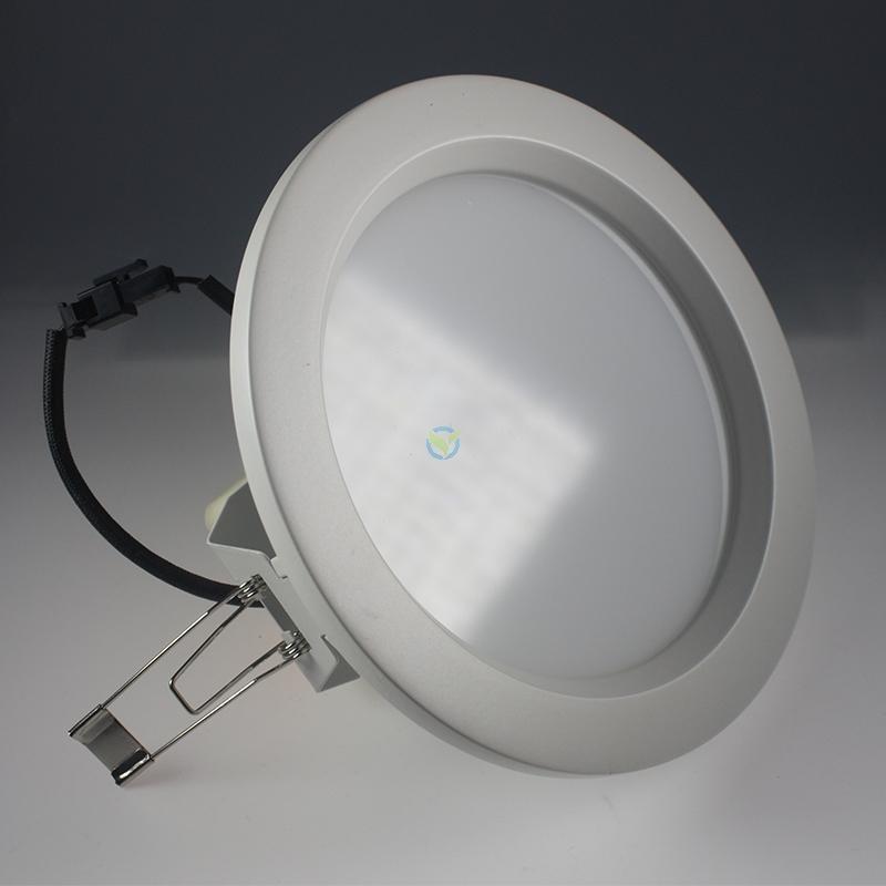 LED Einbauleuchte Samsung Panel warmweiß matt dimmbar 12 Watt