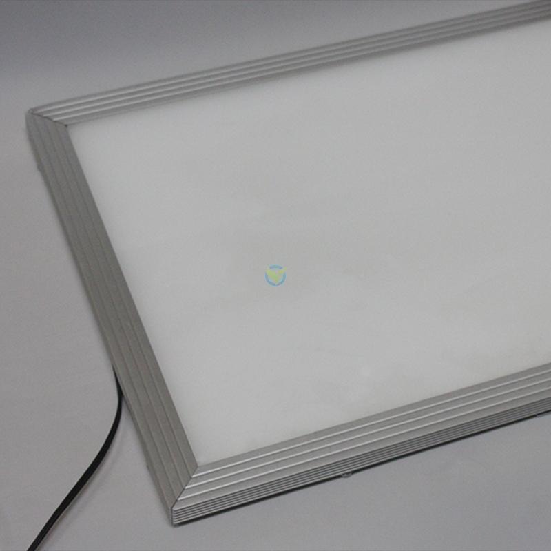 led slim panel in 30x60 cm in wei zur deckenbeleuchtung oder als wandleuchte. Black Bedroom Furniture Sets. Home Design Ideas