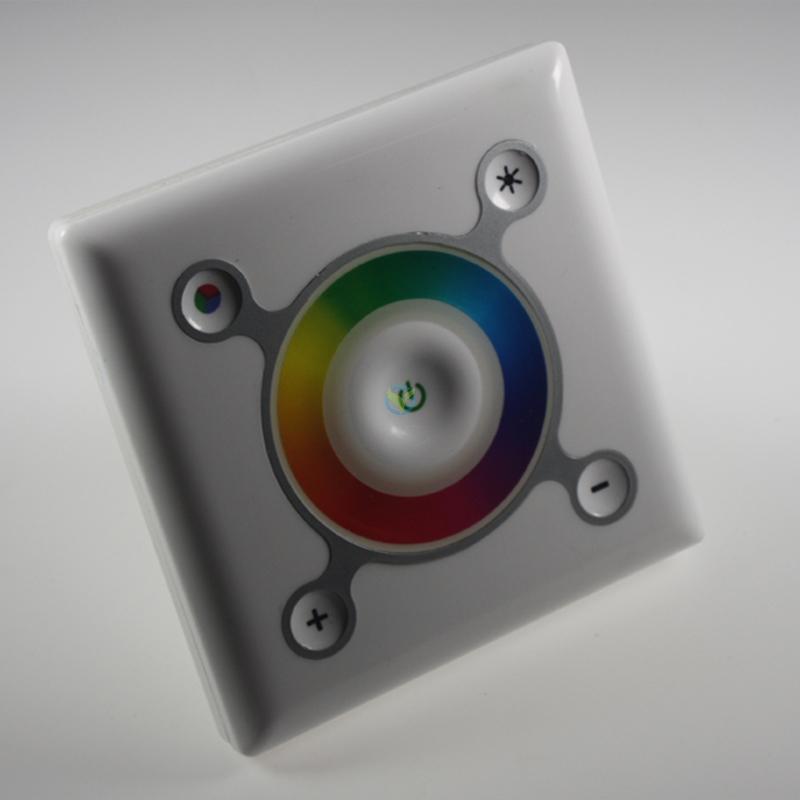 LED RGB Touch Panel Einbau Steuergerät Controller Unterputz 12-24 Volt