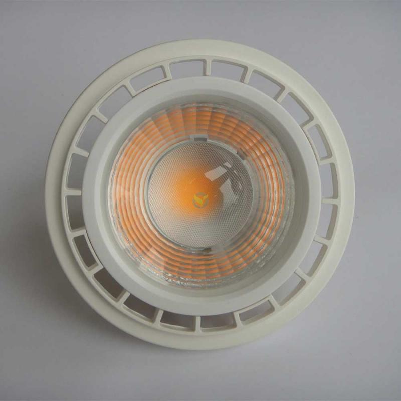 ES111 Gu10 Sockel COB LED PAR30 Reflektorleuchte 15W warmweiß Strahler