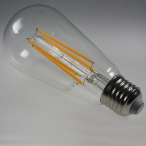 LED E27 Faden Lampe Retro ST64 warmwei� dimmbar