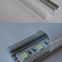 aluprofile und aluschienen f r led lichtband. Black Bedroom Furniture Sets. Home Design Ideas
