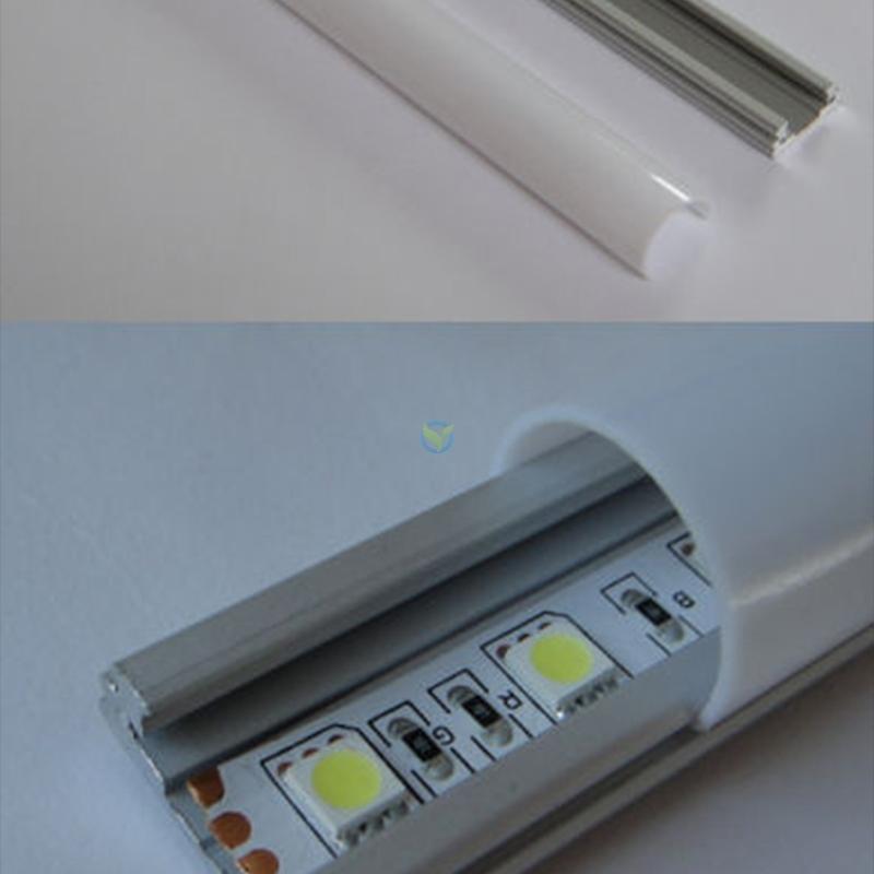 aluprofil aluschiene f r led lichtband 1 5m mit. Black Bedroom Furniture Sets. Home Design Ideas