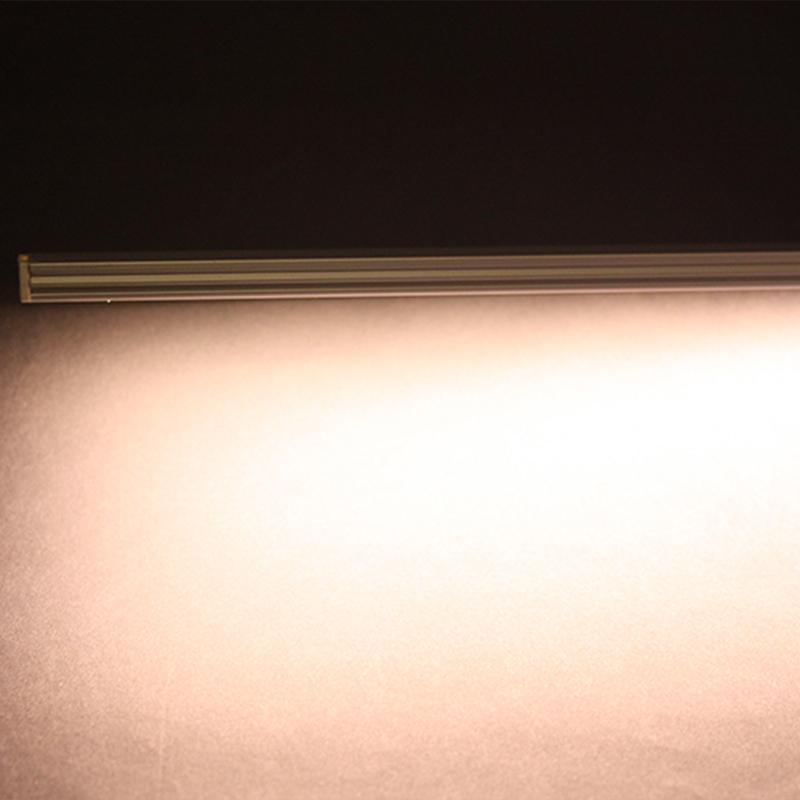 2 chip smd led licht leiste schiene warmwei. Black Bedroom Furniture Sets. Home Design Ideas