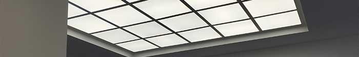 LED Deckenbeleuchtung mit Panel