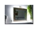 Lichtband hinter Spiegel
