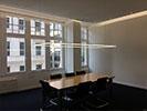 angefertigte Tischbeleuchtung Konferenzraum