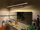 Spiegellampe mimimal Design