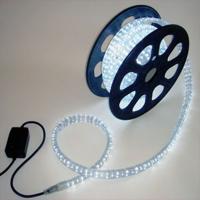 Led Lichterkette Lichtschlauch mit Steuerung  weiß...