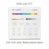 2.4G Wandschalter für RGB CCT Beleuchtung 4-Kanal...