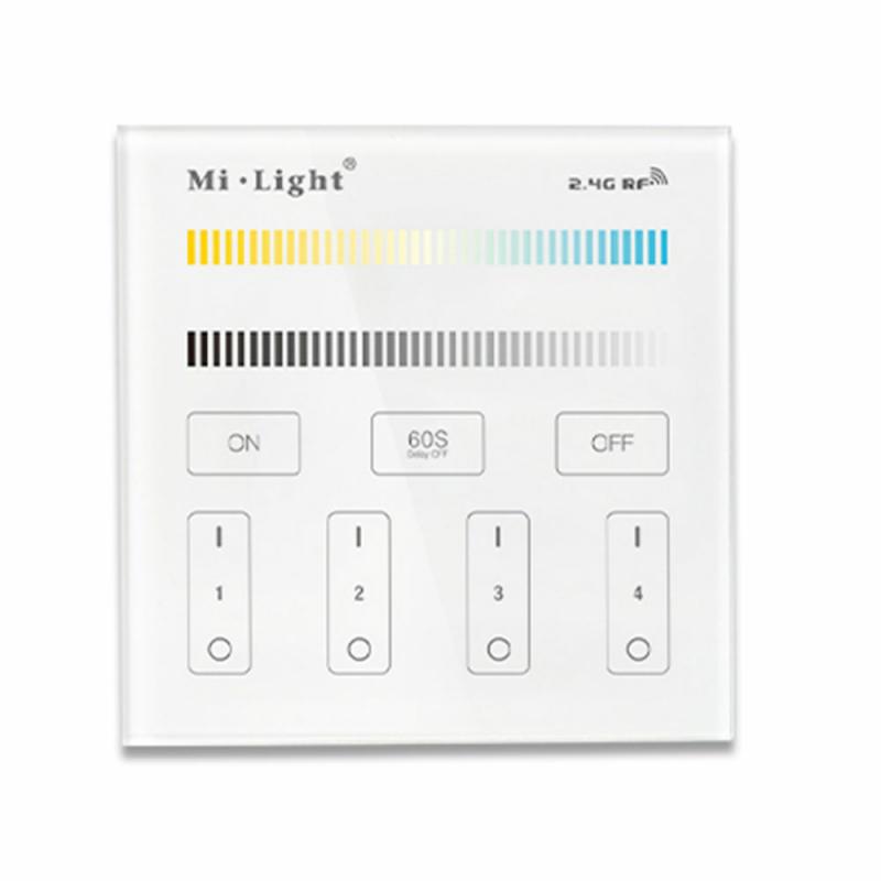 2.4G Wandschalter CCT Beleuchtung MiLight