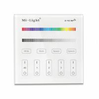 2.4G Wandschalter für RGBWW Beleuchtung 4-Kanal...