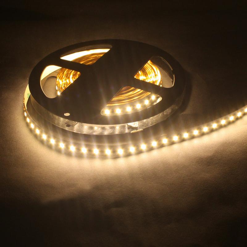 led lichtband 120 led m 5m strip 18w m mit 24vdc 2835 smd. Black Bedroom Furniture Sets. Home Design Ideas
