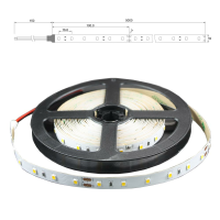 LED Lichtband 2700K warmweiß 60 LED/m 5m Strip 14,4W/m...