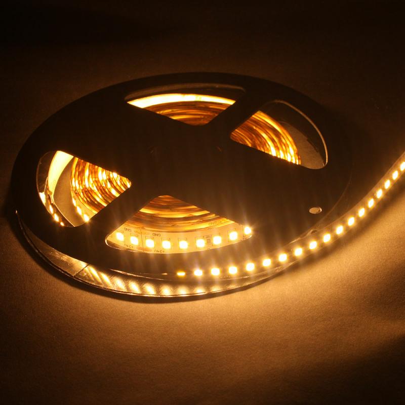 led lichtband 168 led m 5m strip 21w m mit 24vdc 2835 smd. Black Bedroom Furniture Sets. Home Design Ideas