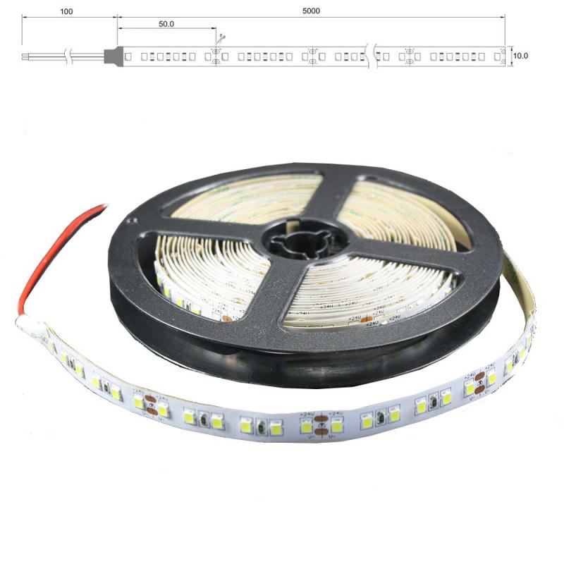 ip65 led lichtband 120 led m 5m strip 18w m mit 24vdc 2835 smd. Black Bedroom Furniture Sets. Home Design Ideas