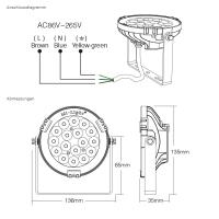 LED Gartenstrahler MiLight kompatibel Außenstrahler...