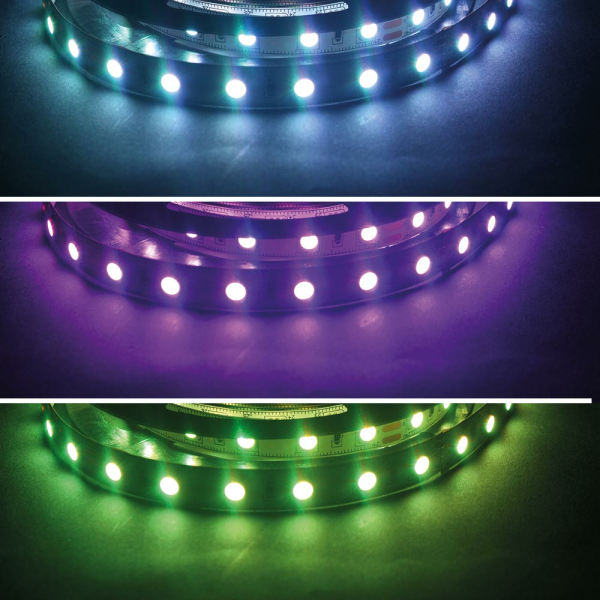 RGB LED SMD 5050 Stripe Flexband Lichtband Band 60 LED/m 24 VDC Bright Edition