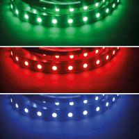 RGB LED SMD 5050 Stripe Flexband Lichtband Band 60 LED/m...