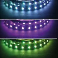 RGB LED SMD 5050 Stripe Flexband Lichtband Band 60 LED/m 24 VDC Bright Edition