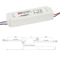 Mean Well LPV Serie Netzteil LED-Trafo IP67...
