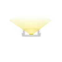 2m Aufbauprofil, ultraflach für maximal 12mm LED Lichtband