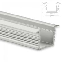 LED EINBAU-Profil 200 cm Aluschiene Hoch / Flügel...