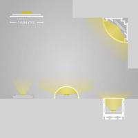 2m Kühlstreifen für LED Lichtband / Stripes bis 15mm Breite