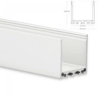 LED Aufbau-Profil 200 cm Aluschiene Hoch / Lichtband max....