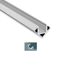 2m Eckprofil Eck-Profil 200cm max. 11mm LED Lichtbandbreite