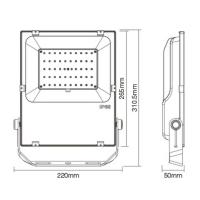RGBCCT Fluter Strahler Gartenstrahler mit 10 - 60 Watt ZigBee kompatibel 60 Watt