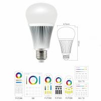 LED E27 RGBWW CCT Leuchtmittel 9W Farbwechsel...