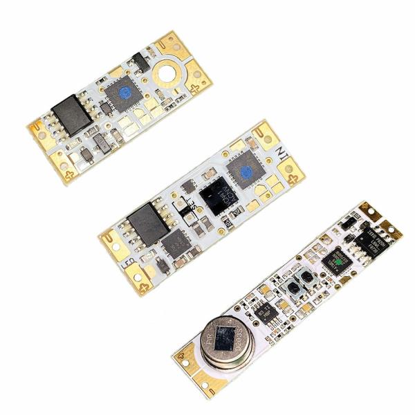 Sensoren für Aluminiumprofile zum Dimmen und Steuern von LED Lichtband