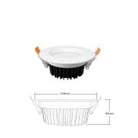 ZigBee Pro Deckeneinbaustrahler mit RGB Farbwechsel CCT Steuerung MiBoxer