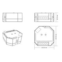 ZigBee Einbaudose Unterputz Dimmer 2adrig Controller ZigBee 3.0 kompatibel