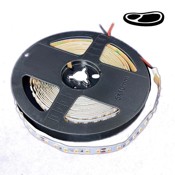 LED Lichtband 120 LED/m 24VDC Stripe Streifen 2835 SMD für Frischfleischtheke