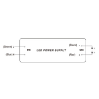 SNP Serie Netzteil LED-Trafo IP20 Konstantspannung 12 VDC 60 Watt IP65