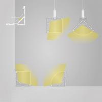 Alu Eck-Profil 200 cm für LED Lichtband bis 20mm Breite PN19