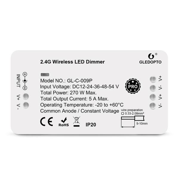 ZigBee Pro Serie Steuergeräte Controller kompatibel mit MiLight MiBoxer Dimmer / Einfarbig