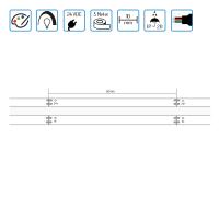 LED COB RGB Streifen Stripe mit Farbwechsel 24VDC