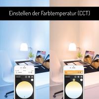 LED E27 Leuchtmittel ZigBee3.0 Pro Serie RGB Farbwechsel CCT Steuerung