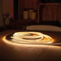30m LED Lichtband SMD Strip mit 9,6W/m und 120 LED/m 10mm Breit