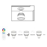 FUT106 - LED Gu10 Leuchtmittel Spot RGB+CCT Mr5,3