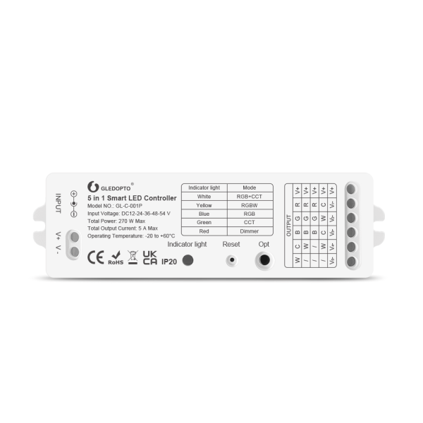 5in1 Steuergerät Controller ZigBee 3.0 Pro Version
