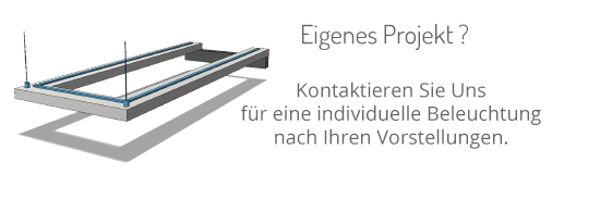 LED Beleuchtung individuell geplant